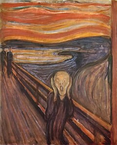 Too much for the computational mind to handle. Edvard Munch's The Scream (www.fisheaters.com)