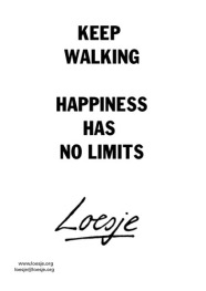 happiness limits poster (loesje.org)